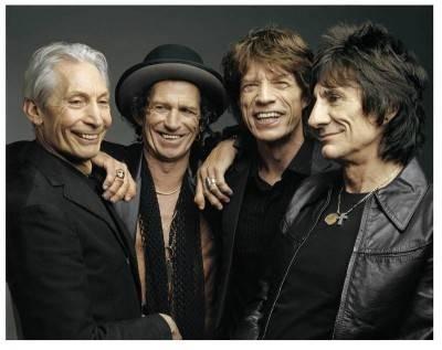 Los Stones participaron en el premier de filmes