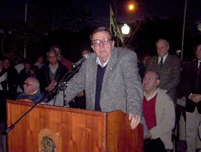 Homenaje al intendente Ricardo Ubieto al cumplirse el cuarto aniversario de su fallecimiento