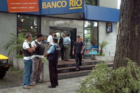 Benefician con libertad condicional al último detenido por el robo al banco Río de Acassuso