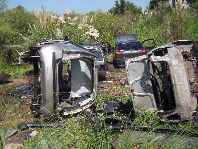 Cayeron cuatro desarmaderos de autos robados en Tigre