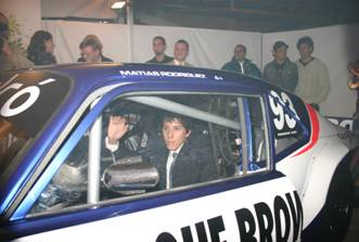 TC: Matías Rodríguez presentó su nueva máquina