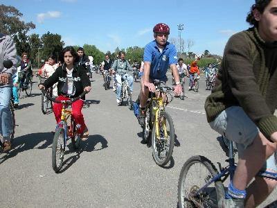 Bicicleteada Familiar 2012 en San Fernando