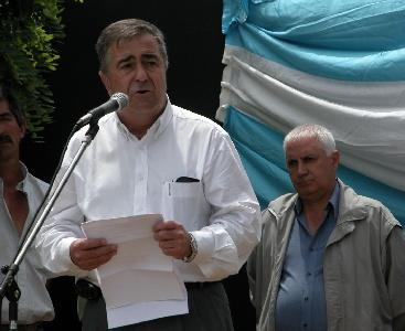 Licenciado Alberto Esteban, Secretario de Planificación y Coordinación, de la Municipalidad de San Fernando