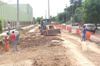 Inician obras de reconstrucción de pavimentos en San Fernando
