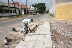 En San Isidroi intimarán a propietarios a que reparen las veredas