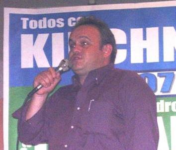 Concejal Pablo Fontanet