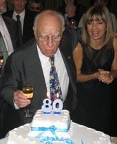San Isidro: Alfredo Laguzzi festejó sus 80 años