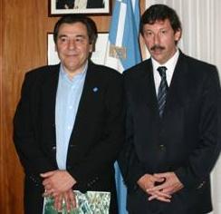 El intendente de San Isidro, Gustavo Posse, recibió al delegado del Consejo de Residentes Españoles en Buenos Aires y apoderado de la Fundación Galicia Emigración, Evaristo Oroña Marcote