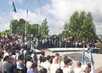 Reconocimiento en San Fernando a 25 años de la gesta de Malvinas