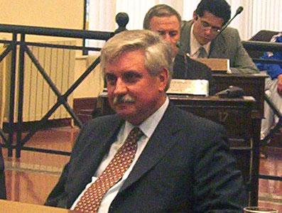 Ernesto Casaretto en el Concejo Deliberente de Tigre
