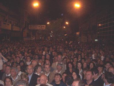 Más de 3500 vecinos acompañaron el lanzamiento de Ernesto Casaretto