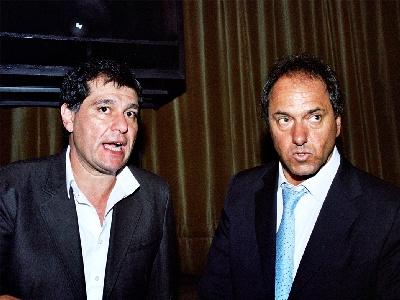 Gambino y Scioli analizaron el panorama de Tigre y del Frente para la victoria