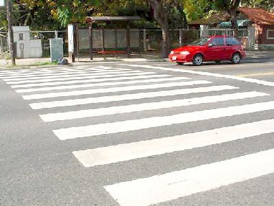 La Avenida del Libertador vuelve a los carriles fijos