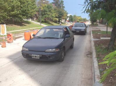 Habilitaron la primera mano del ensanche y repavimentación de la avenida Uruguay