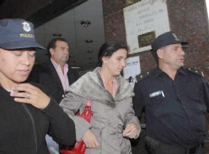 La hermanastra de María Martha García Belsunce, Irene Hurtig, se retira de los tribunales de San Isidro