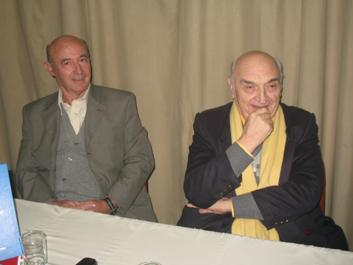 El legendario piloto Froilán González visitó el San Isidro Automóvil Club