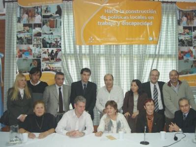 Se presentó en Tigre el Servicio de Colocación Laboral Selectiva para Personas con Discapacidad