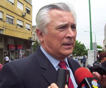 El intendente del partido bonaerense de San Martín, el ex arista Ricardo Ivoskus