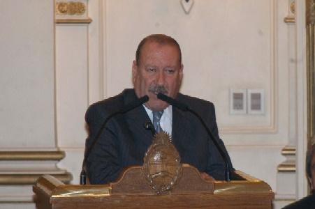 Osvaldo Amieiro, intendente de San Fernando
