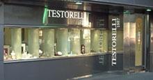 Testorelli, famosa joyer�a ubicada en 9 de Julio al 400 de San Isidro