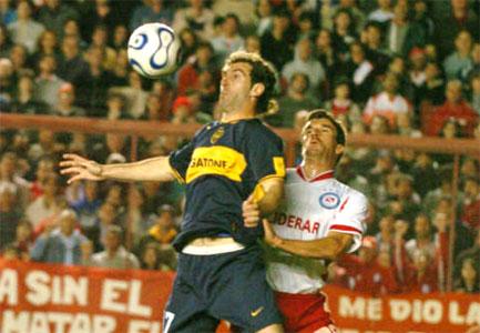 Un show de goles que no le sirvió a Boca en La Paternal.
