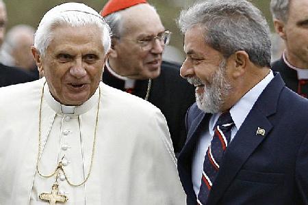 El Papa y Lula evitaron tratar el conflictivo tema del aborto