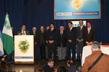 El acto contó con la presencia del vicepresidente de la Nación, del secretario de Cultura de la Nación y de los intendentes del conurbano norte