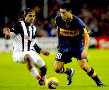 Boca Juniors no pudo con Libertad, de Paraguay, con el que empató 1 a 1, en el partido de ida de los cuartos de final de la Copa Libertadores