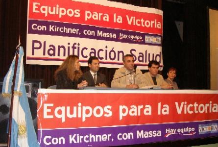 El Frente para la Victoria presentó su planificación para la salud de Tigre