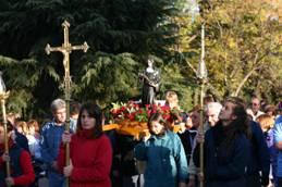 Fiestas patronales de la parroquia Santa Rita de Casia, en Boulogne