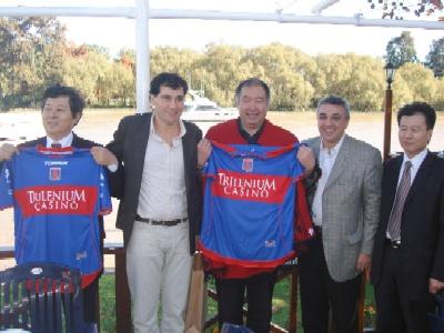 El embajador chino visitó Tigre junto al Frente para la Victoria.