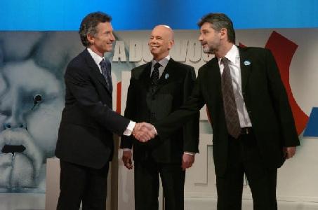 Los candidatos a Jefe de Gobierno Porte�o se cruzan en Debate Capital