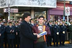 Premiaron a alumnos destacados de San Isidro
