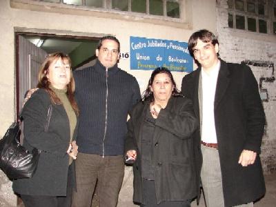 El Frente sigue sumando apoyos en San Isidro