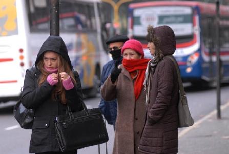 Clima: Julio arrancó con clima polar