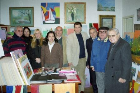 Importantes dirigentes del Frente para la Victoria se reunieron con el Padre Edel Torrielli