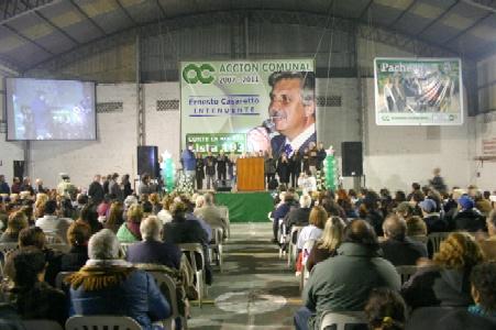 Casaretto presentó su candidatura en General Pacheco