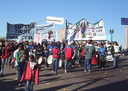 Docentes de Tigre reclaman Condiciones Dignas en las escuelas