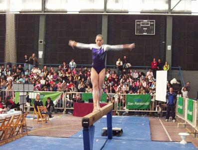 Comenzó en San Fernando La Gymnastic World Cup 2007