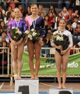 Se realizó en San Fernando la Gymnastic World Cup 2007
