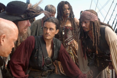 Piratas del Caribe 2 gana el premio MTV como mejor película