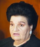 Murió Marta Holgado, presunta hija del General Perón