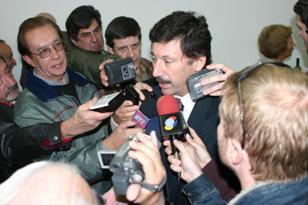 El intendente Gustavo Posse agasajó al periodismo en su día