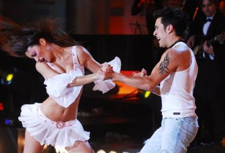 Nina Pelozo bailó lambada y Lafauci puso un 7