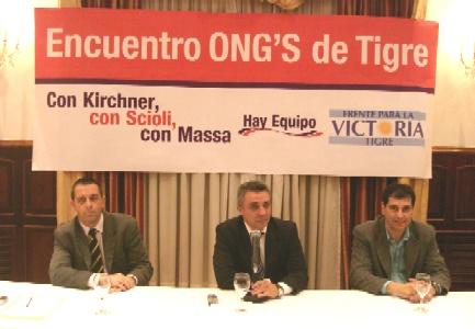 Encuentro de ONG´s con el Frente Para La Victoria de Tigre
