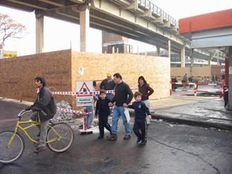 Comenzaron los trabajos para construir el paso bajo nivel de Boulogne