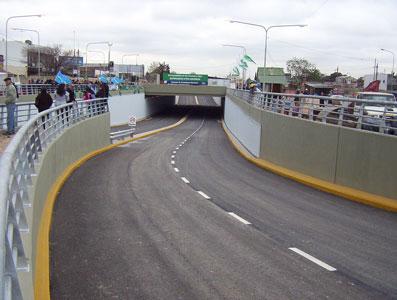 Quedó habilitado al tránsito al Túnel de Carupá