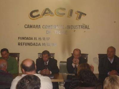 los Doctores Diego Callegari y Claudio Scapolan de la Fiscalia de Delitos Complejos del Departamento Judicial de San Isidro