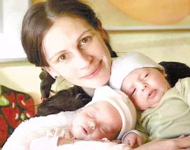 Julia Roberts dio a luz a su tercer hijo en Los Ángeles