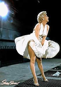 Un vestido de Marilyn, icono del cine de todos los tiempos